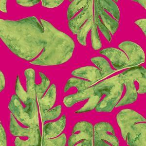 Leaves On Pink by Kat Papa