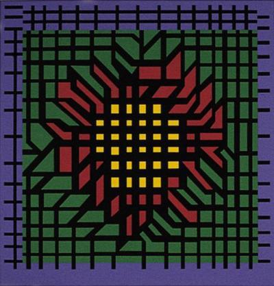 Kat-Zag-Victor Vasarely-Limited Edition