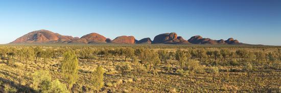 Kata Tjuta / The Olgas (UNESCO World Heritage Site), Uluru-Kata Tjuta National Park, Northern Terri-Ian Trower-Photographic Print