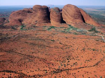 Kata Tjuta, Uluru-Kata Tjuta National Park, Northern Territory, Australia-John Banagan-Photographic Print