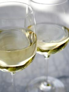 Two Glasses of White Wine by Katano Nicole