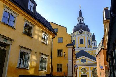 Katarina Kyrka (Church of Catherine) at Sodermalm District in Stockholm, Sweden-Carlos Sanchez Pereyra-Photographic Print