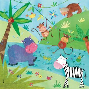 Jungle Friends I by Kate and Elizabeth Pope
