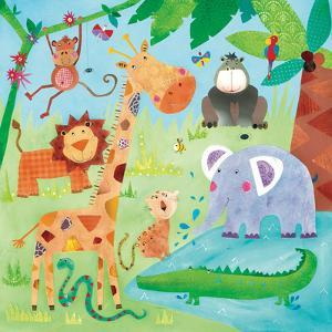 Jungle Friends II by Kate and Elizabeth Pope