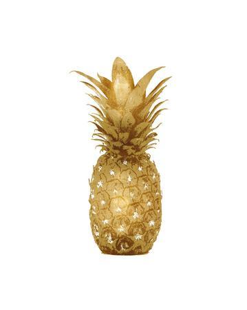 Gold Pineapple I