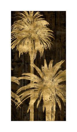 Golden Palms Panel II