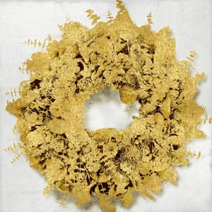 Golden Wreath III by Kate Bennett