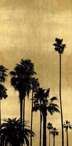Palm Silhouette on Gold III by Kate Bennett