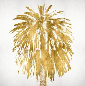 Palms In Gold III by Kate Bennett