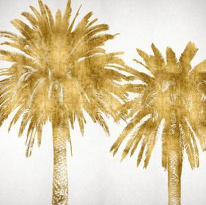 Palms In Gold IV by Kate Bennett