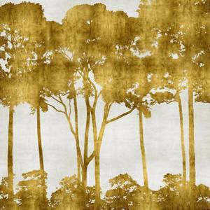 Tree Lined In Gold I by Kate Bennett
