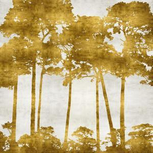Tree Lined In Gold II by Kate Bennett