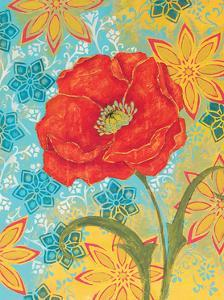 Sunset Poppy by Kate Birch