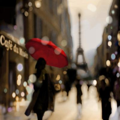 A Paris Stroll by Kate Carrigan