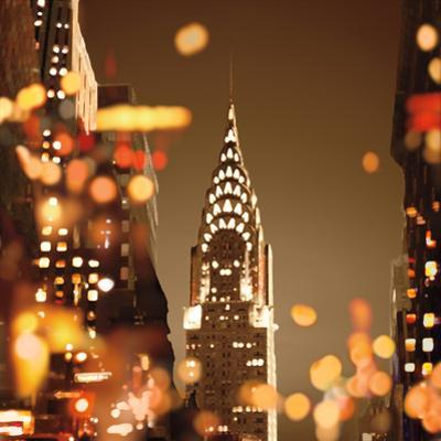 City Lights-New York by Kate Carrigan