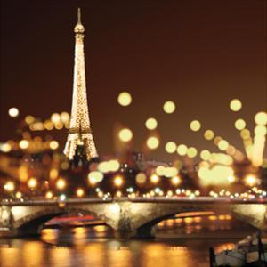City Lights-Paris by Kate Carrigan