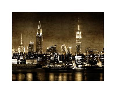 NYC in Sepia