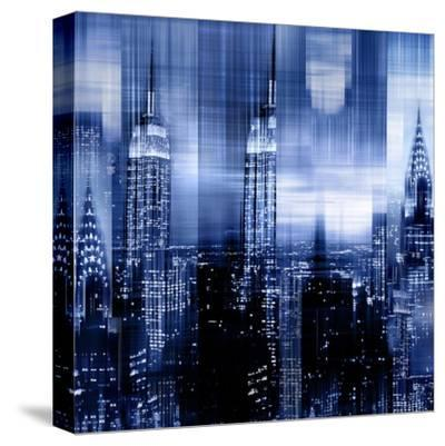 NYC - Reflections in Blue II by Kate Carrigan