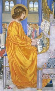 St Cecilia by Kate Elizabeth Bunce