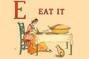 E Eat It by Kate Greenaway
