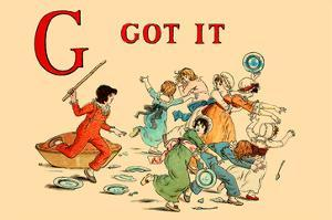 G - Got It by Kate Greenaway