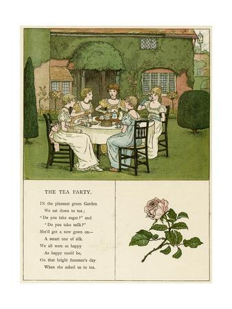 Illustration, the Tea Party