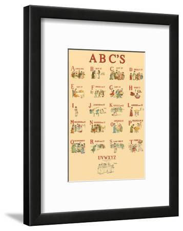 Kate Greenaway's ABC's