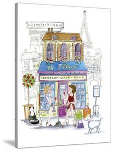 French Cafe by Kate Mawdsley