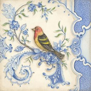 Chinoiserie Aviary I by Kate McRostie