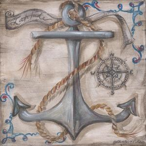 Whale Watch Anchor by Kate McRostie