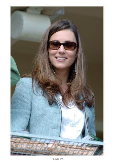 Kate Middleton, in the Royal box at Cheltenham Racecourse--Giclee Print