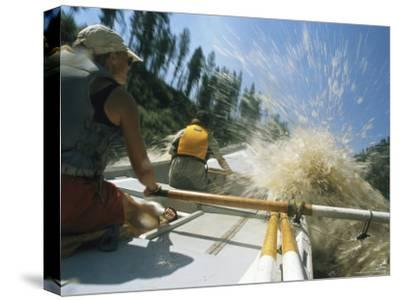 Whitewater Dory Boating on the Salmon River in Idaho