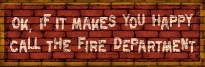 Call the Fire Dept by Kate Ward Thacker