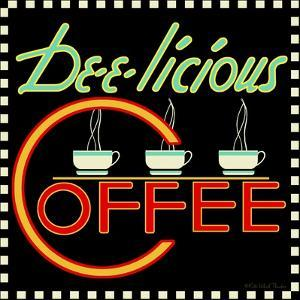 Dee-licious Coffee by Kate Ward Thacker