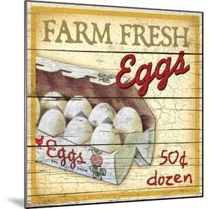 Farm Fresh Eggs by Kate Ward Thacker
