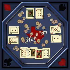 Hold'em Table by Kate Ward Thacker
