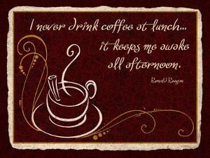 Never Drink Coffee at Lunch by Kate Ward Thacker