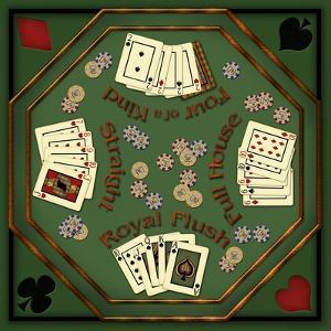 Poker Table by Kate Ward Thacker