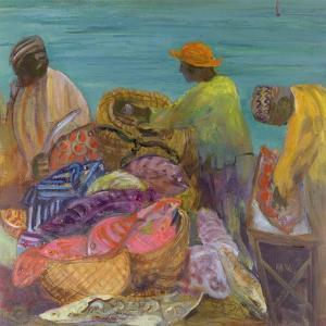 Sorting the Catch, Zanzibar by Kate Yates