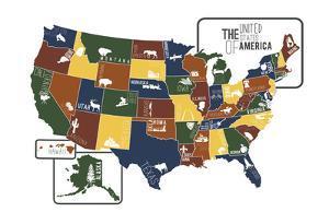 USA Map by Katelyn Lynch