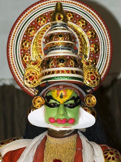 Kathakali Dancer, Kochi (Cochin), Kerala, India, Asia-Stuart Black-Photographic Print