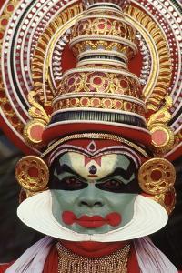 Kathakali, the Classical Dance-Drama of Kerala Region in Trivandrum, Kerala, India
