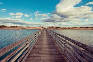 Bridge to the Beach by Katherine Gendreau