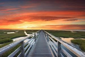 Greys Beach Sunset by Katherine Gendreau