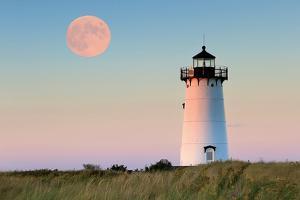Moon over Marthas Vineyard by Katherine Gendreau