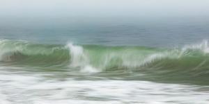 Surfside Beach in Fog by Katherine Gendreau