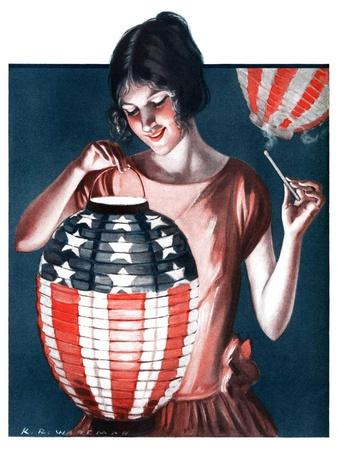 """Japanese Lantern,""June 28, 1924"