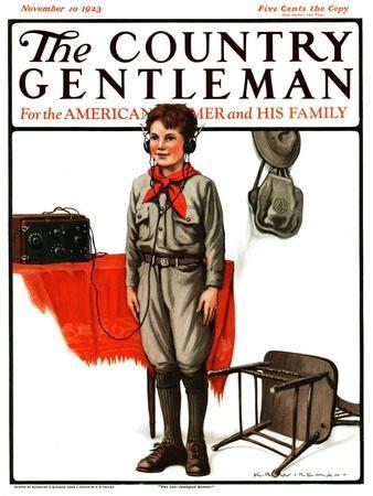 """Star Spangled Banner,"" Country Gentleman Cover, November 10, 1923"
