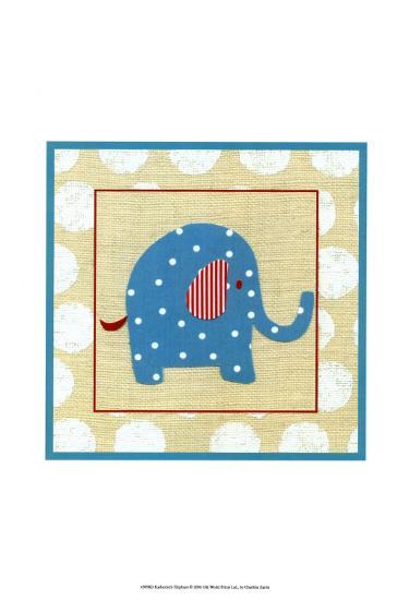 Katherine's Elephant-Chariklia Zarris-Art Print