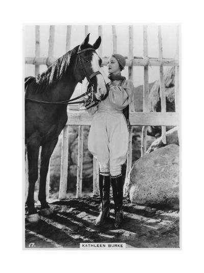 Kathleen Burke, American Film Actress, C1938--Giclee Print